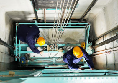Cableado estructurado, Sistema de detección de incendios y CCTV para ascensores – TRIANON S.A.