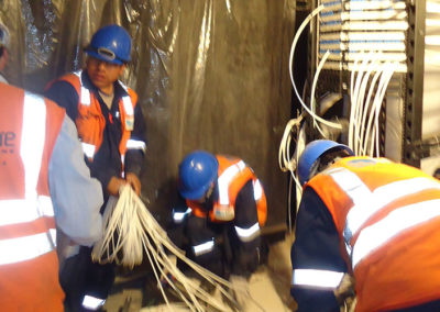 Sistema de cableado estructurado en oficinas administrativas Minera Yanacocha